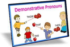 ضمایر اشاره (demonstrative pronouns)